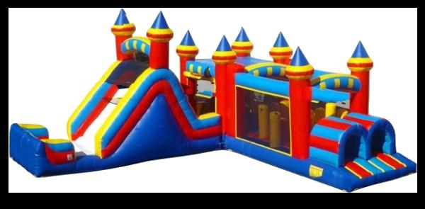 Multi_Configurable Slide Bounce Course
