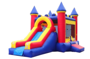 Yellow & Red Inflatable Jump Combo
