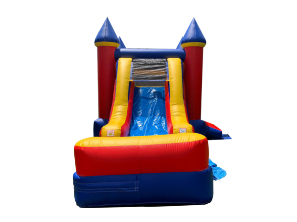 Yellow & Red Inflatable Jump Combo 2